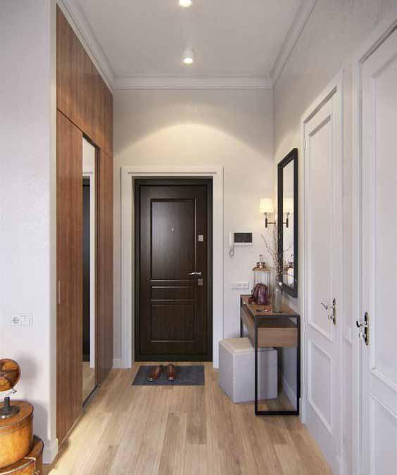 Изготовление входных дверей и консольного столика в стиле Loft