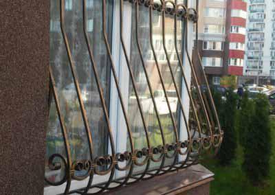 Решетка на половину окна – балконное ограждение от 27.10.16