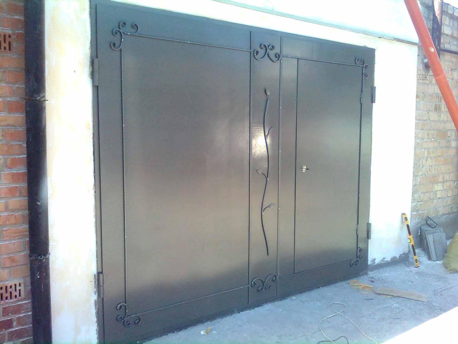 Металлические гаражные ворота от 09.10.19