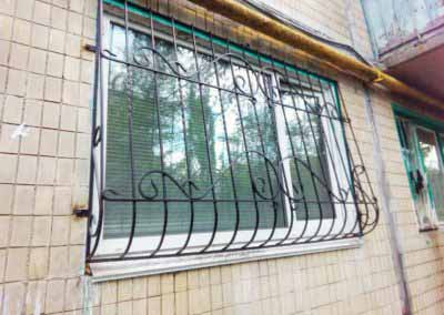 Решетка выпуклая на балкон от  12.11.19 (артикул 121119)