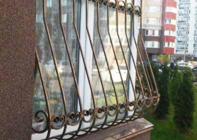 Луковичная решетка на половину окна от 08.11.19 (артикул 081119)
