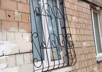Луковичная решетка на окно от 14.02.2020 (артикул 14022020)