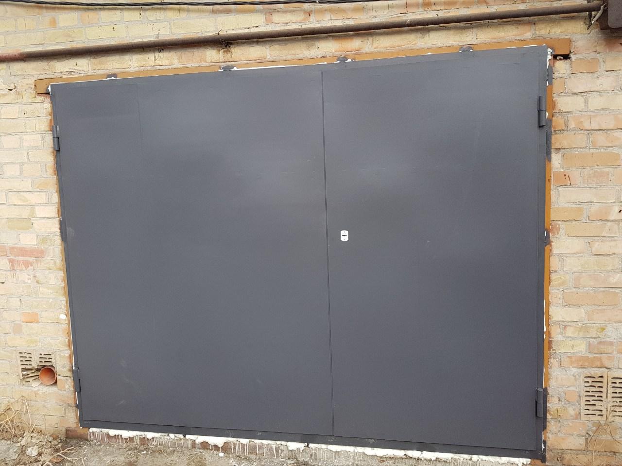 Металлические гаражные ворота от 09.02.20