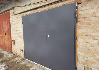 Металлические гаражные ворота от 09.02.20 (артикул 090220)