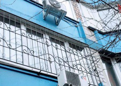 Решетки на окна для второго этажа от 19.03.20 (артикул 190320)