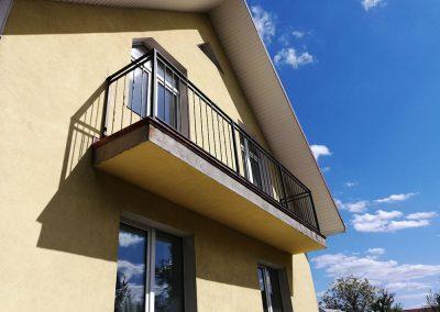 Перила-балконные ограждения на балкон в стиле лофт от 22.05.20 (артикул 220520)