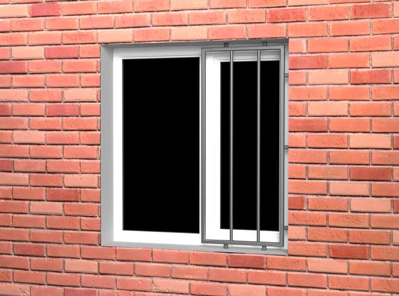Решетки от выпадения детей (на половину окна)