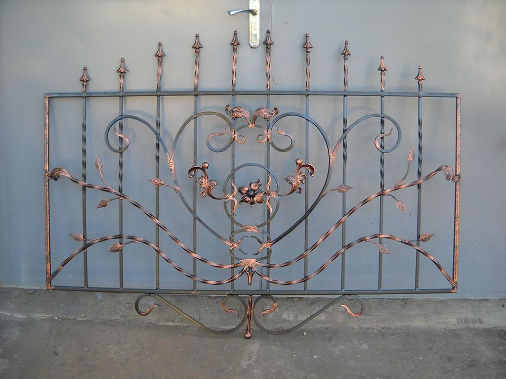Изготовление кованых металлических ограждений заборов балконов от 20.07.20