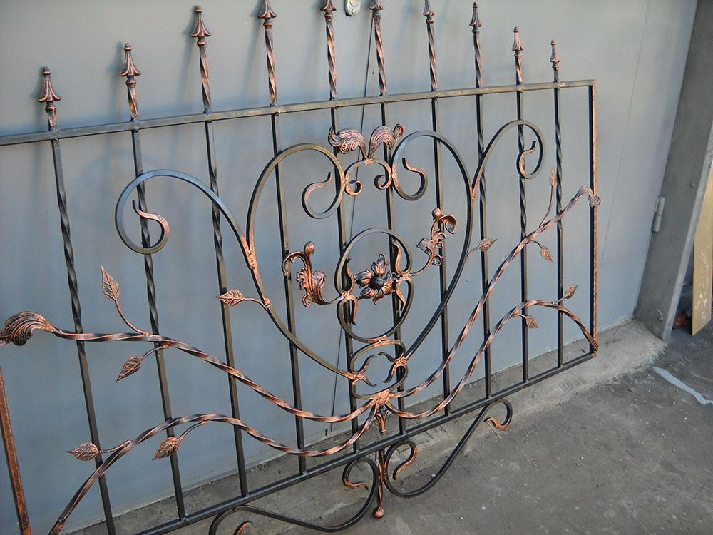 Изготовление кованых металлических ограждений заборов балконов от 20.07.20-2