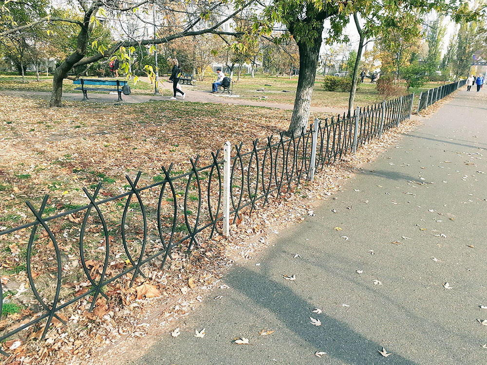 Уличные ограды