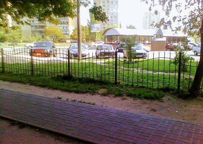 Металлический забор – ограждение от 30.07.20 (артикул 300720)