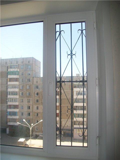 Защитные решетки от детей на окна