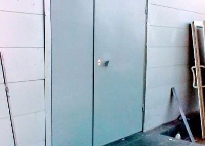 Стальные двери для складского помещения от 18.09.20 (артикул 180920)