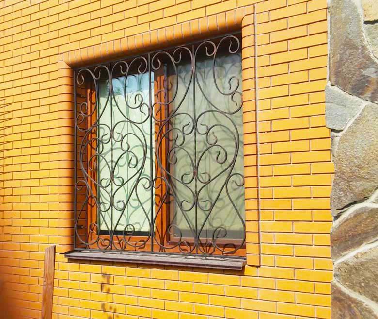 Защитные решетки на окна для дачи от 24.09.20 (артикул 240920)