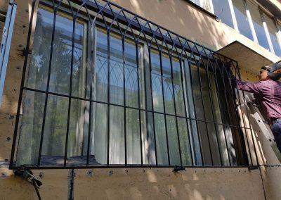 Современные виды решеток на окна