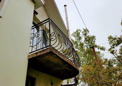 Французский балкон установка -2