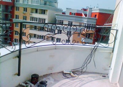 Перила на балкон 4