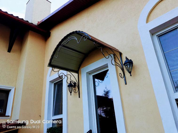 Навес над входом в дом от 05.11.20 (артикул 051120)