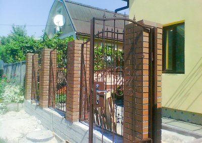 Решетчатый забор с калиткой от 27.11.20 (артикул 271120)