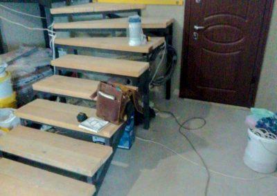 Металлическая Лестница с поворотом на 180 градусов от 29.11.20 (артикул 291120)