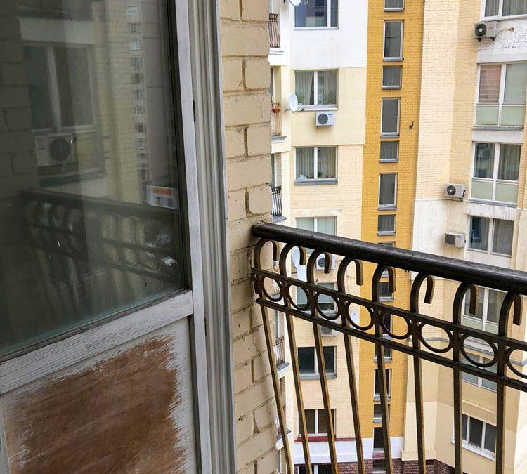 Перила на балкон ковка от 18.01.21 (артикул 180121)