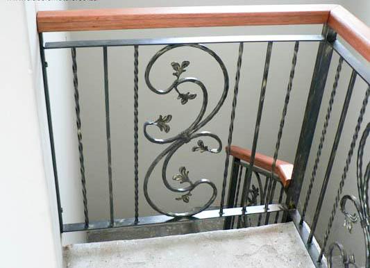 Ограждения для лестницы с ковкой от 02.03.21(артикул 020321)