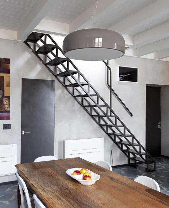 Изготовление металлической лестницы по дизайну архитектора Roberto Murgia