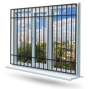 Эскиз решетки на окно № 1