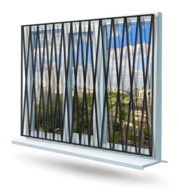 Эскиз решетки на окно № 2