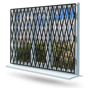 Эскиз решетки на окно № 3