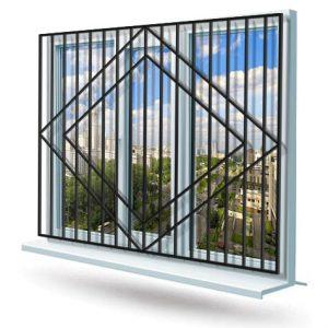 Эскиз решетки на окно № 5