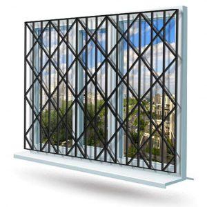 Эскиз решетки на окно №7