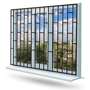 Эскиз решетки на окно № 18