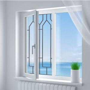 Эскиз решетки на окно ДЕТИ № 9